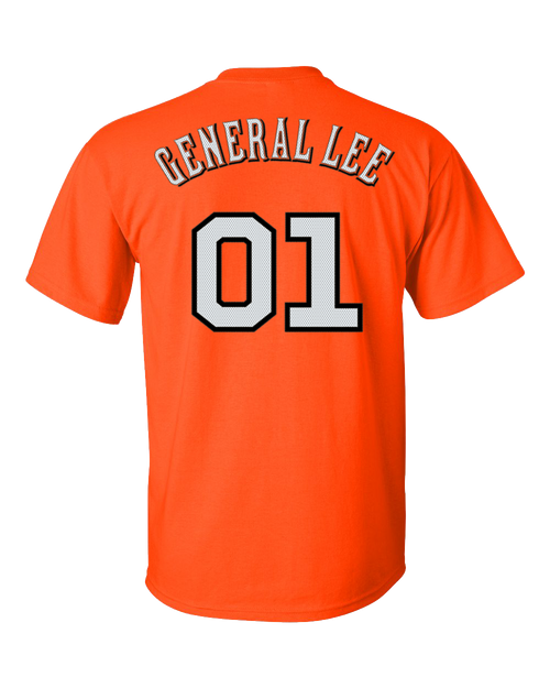 Cooter's General Lee Jersey 01 T-Shirt