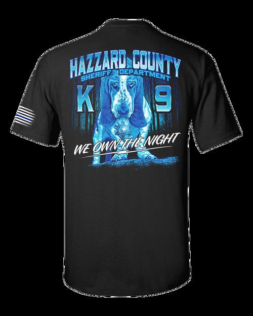 Hazzard County Sheriff K9 T-Shirt