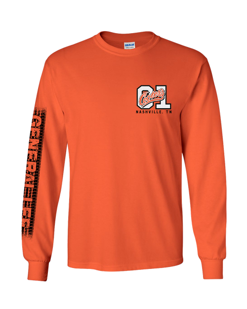 General Lee Jersey 01 Long Sleeve T-Shirt