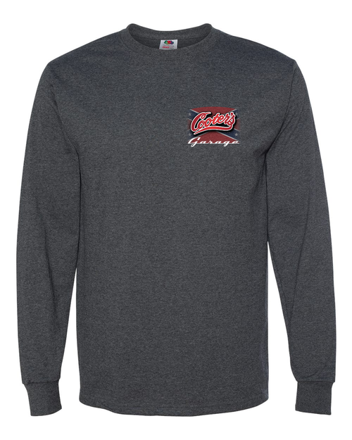 Straightening  the Curves Long Sleeve T-Shirt Grey Front