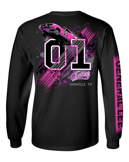 Ladies Keep It Between the Ditches Long Sleeve T-Shirt