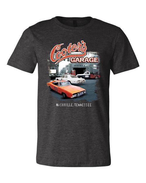 Cooter's Garage Multi-Car Youth T-Shirt