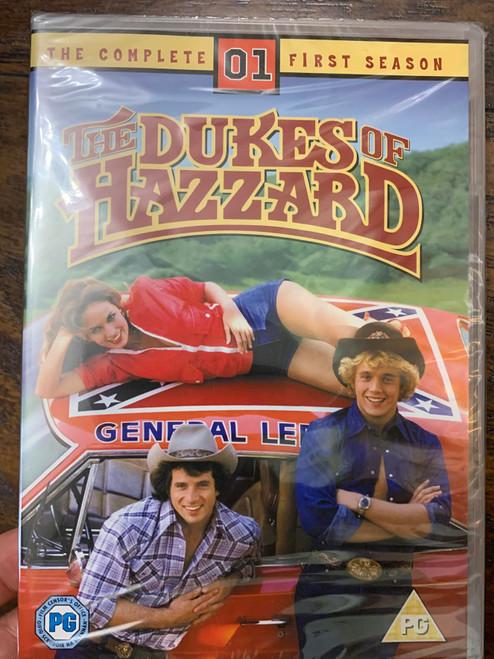 "MULTI REGION PLAYER REQUIRE ""Dukes of Hazzard"" Season One DVD Set"