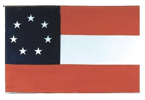 1ST Confederate Battle FLAG 3x5 POLYESTER