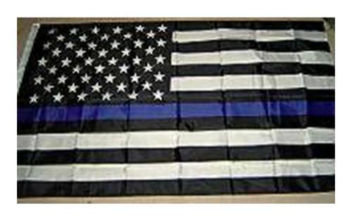 USA Blue Line - American Flag  3x5 Polyester