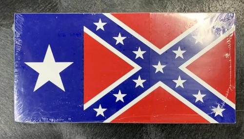 Confederate TEXAS  Bumper Sticker