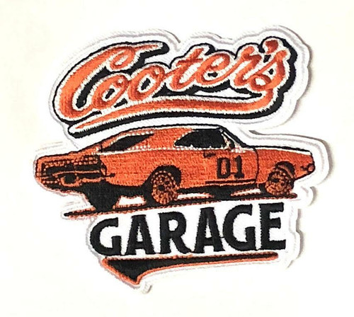 Cooter's Garage General Lee Classic Velcro Patch