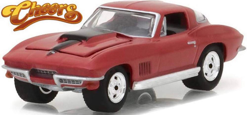 1:64 Hollywood Series 17 - Cheers (1982-93 TV Series) - Sam's 1967 Chevy Corvette Sting Ray