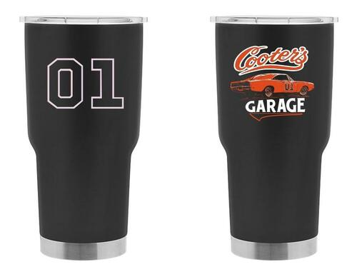 Cooter's Garage General Lee Double Insulated Tumbler 30oz-