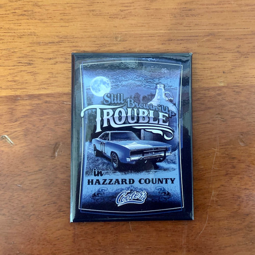 Brewing Up Trouble Magnet