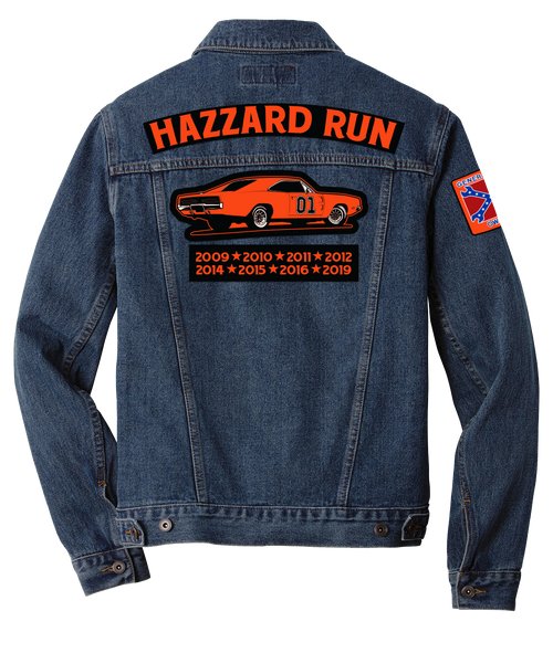Hazzard Run 2021 Denim Jacket