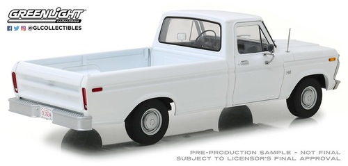 """Pre-Order 1:18 1973 Ford F-100 - White """"Uncle Jesse Truck"""""""