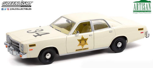 """NOV 2021 PRE-ORDERS ONLY 1:18 Artisan Collection - 1977 Plymouth Fury """"Riverton Sheriff #34"""""""