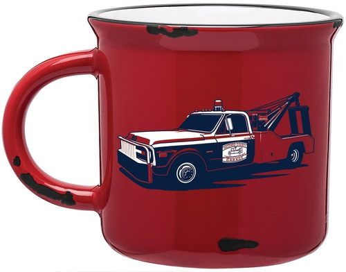 Vintage Cooter's Tow Truck Coffee Cup (15oz)