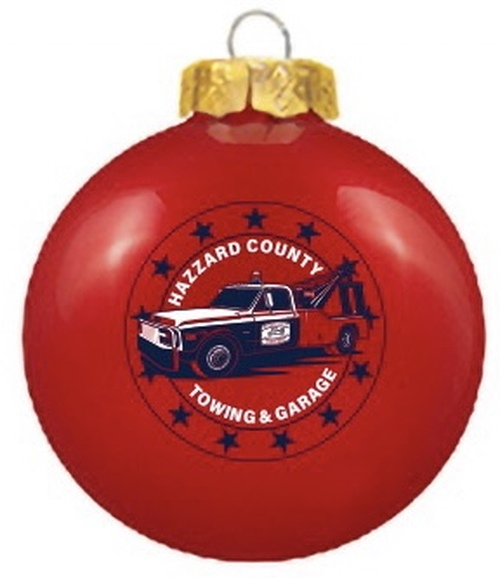 Cooter's Tow Truck Christmas Ornament