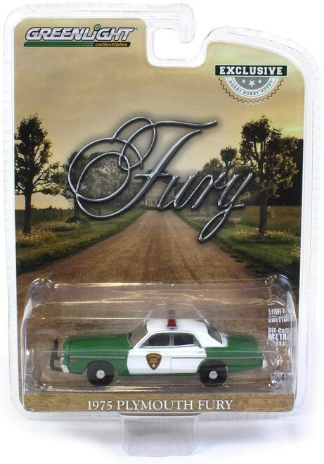 """1:64 Scale """"Sheriff Little's"""" 1975 Plymouth Fury Chickasaw County Sheriff"""