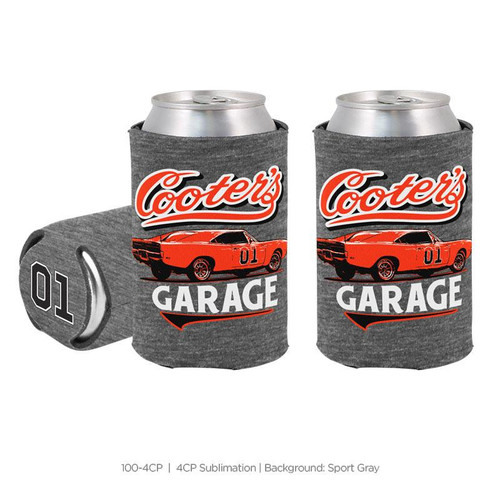 Can Coolie Cooter's Garage Classic Grey