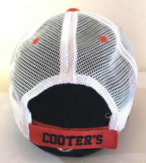 Cooter's Garage Rectangle 01 Patch Trucker Hat