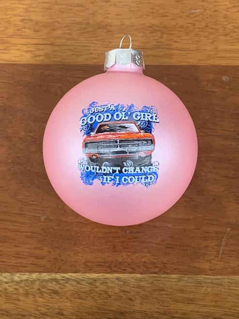 Good Ol' Girls Christmas Ornament (Pink)