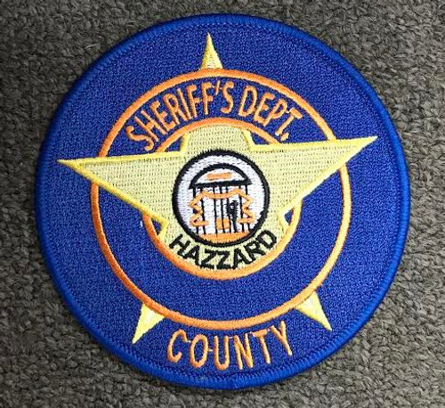 Hazzard County Sheriff Department Patch