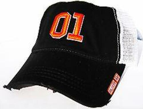 Cooter's 01 Trucker Hat-Black HT21