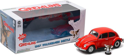 1:24 Gremlins (1984) - 1967 Volkswagen Beetle with Gizmo Figure