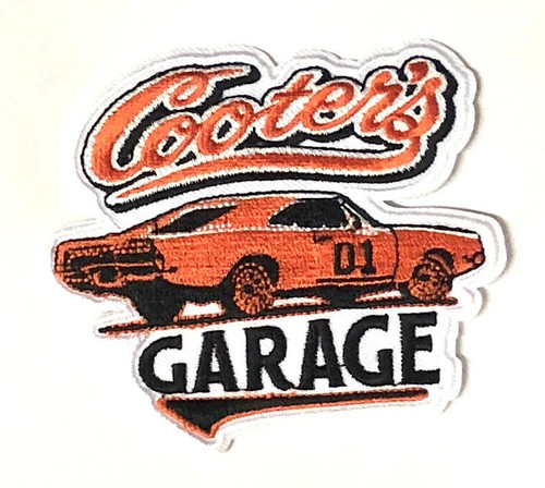Cooter's Garage General Lee Classic Iron On Patch
