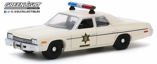 1:64 Scale Hazzard County Sheriff Car - 1975 Dodge Monaco