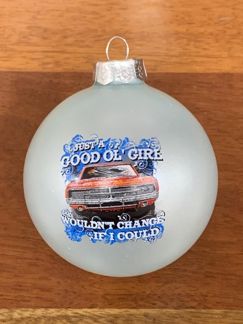 Good Ol' Girls Christmas Ornament (Light Blue)
