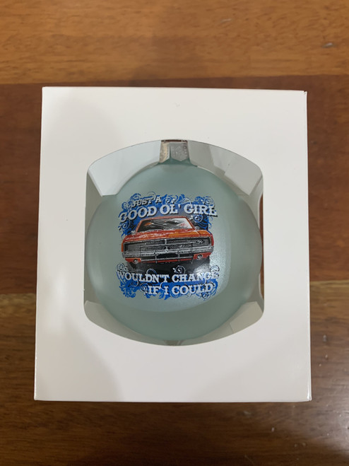 Good Ol' Girls Christmas Ornament (Light Blue)