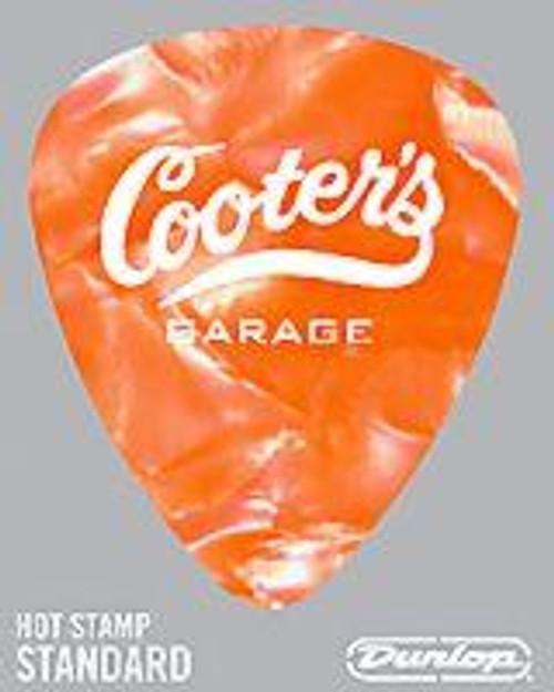 Guitar Pick Orange Pearl Garage