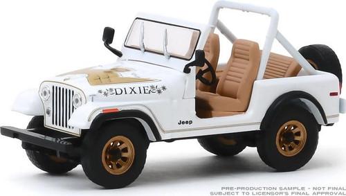 "1:43 Scale 1979 Jeep CJ-7 Golden Eagle ""Dixie"""