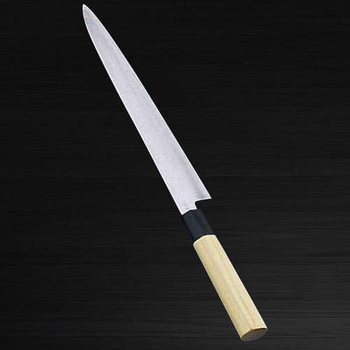 Sakai Jikko Tanren Ginsan Gingami No.3 steel Japanese Chefs SlicerSujihiki 300mm