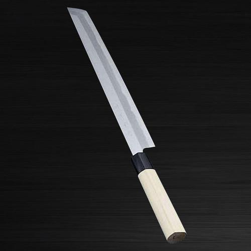 Sakai Jikko Jyosaku Shiroko White No.2 steel Japanese Chefs Sakimaru-YanagibaSashimi 240mm