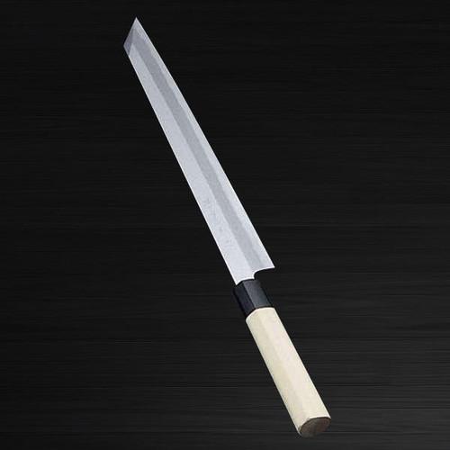 Sakai Jikko Jyosaku Shiroko White No.2 steel Japanese Chefs Kiritsuke-YanagibaSashimi 210mm