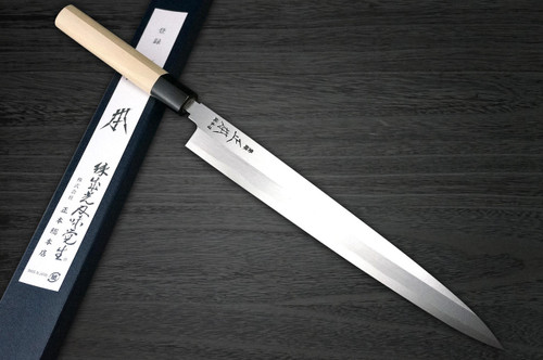 Masamoto KS Honkasumi Gyokuhaku-ko Japanese Chefs YanagibaSashimi 300mm KS0430