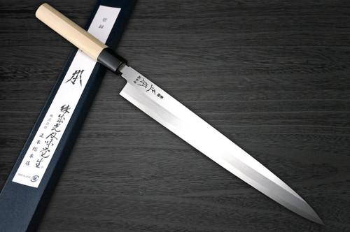 Masamoto KS Honkasumi Gyokuhaku-ko Japanese Chefs YanagibaSashimi 330mm KS0433