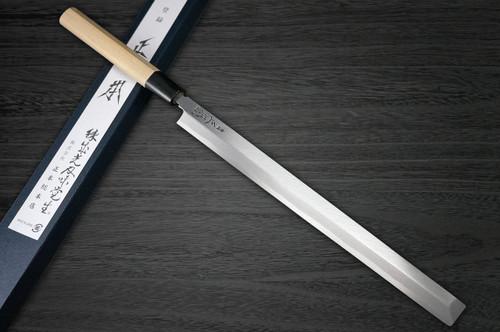 Masamoto KS Honkasumi Gyokuhaku-ko Japanese Chefs TakohikiSashimi 300mm KS0130