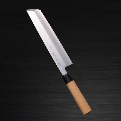 Sakai Kikumori Supreme Shiroko White steel Japanese Chefs Hone-Kiri 270mm