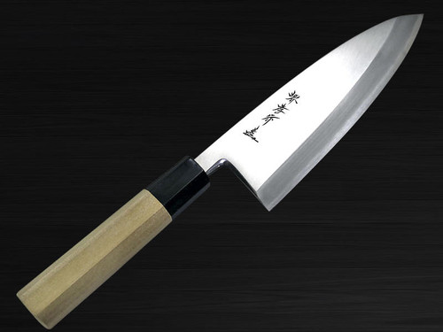 Sakai Takayuki Chef-series Gingami No.3 Steel Japanese Chefs Deba Knife 165mm
