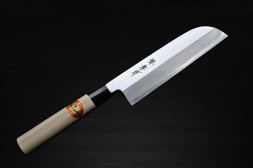 Sakai Takayuki Kasumitogi White steel Japanese Chefs Kamagata-UsubaVegetable 195mm