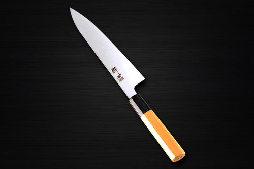 Suishin INOX Honyaki Japanese Chefs Gyuto Knife 210mm