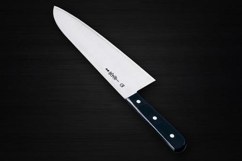 Sabun All-Steel Hand-Finished Japanese Chefs Wide Gyuto KnifeKomagiri 270mm