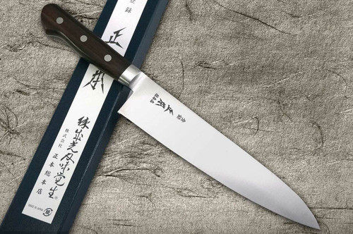 Masamoto CT Prime High-Carbon Steel Japanese Chefs Gyuto Knife 210mm CT5021