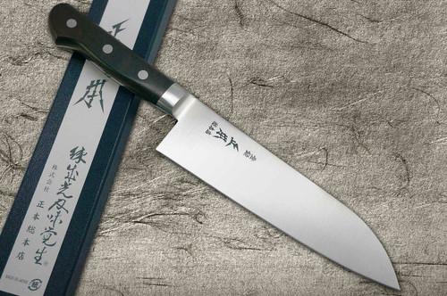 Masamoto CT Prime High-Carbon Steel Japanese Chefs Bunka Knife 180mm CT5218