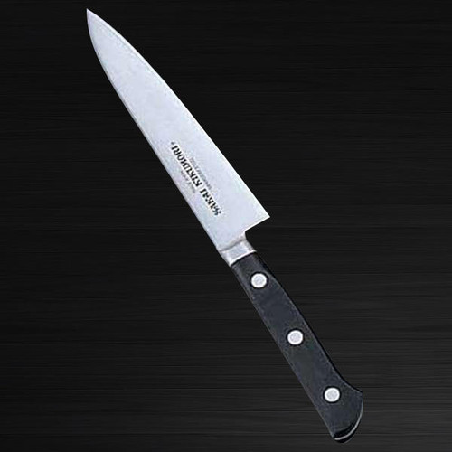 Sakai Kikumori SKK MV Stainless Metal Tsuba Japanese Chefs Petty KnifeUtility 120mm