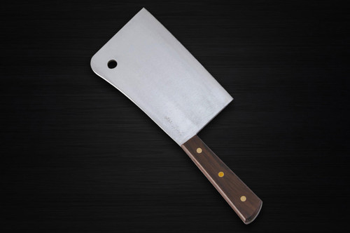Sugimoto All-Steel Japanese Chefs Cleaver 185mm