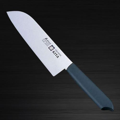 Kiya New Edelweiss No.120 Japanese Chefs Santoku Knife 170mm