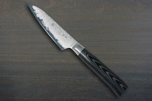 Tamahagane SAN Kyoto 63 Layer-Damascus Japanese Chefs Petty KnifeUtility 120mm