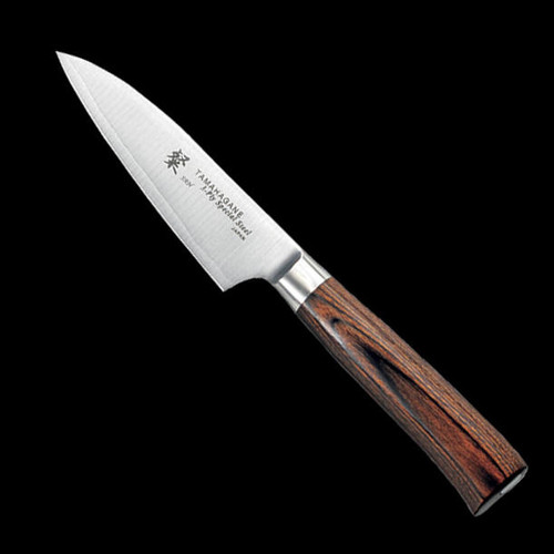 Tamahagane SAN 3 Layer Stainless Japanese Chefs Paring Knife 90mm